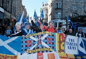 All Under One Banner Independence March, Edinburgh, Saturday 6th October 2018