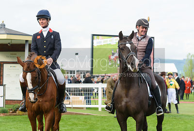 William Fox-Pitt (CHILLI MORNING) and Alan Davies (VALEGRO) - Champions Willberry Charity Flat Race - Cheltenham Racecourse, ...