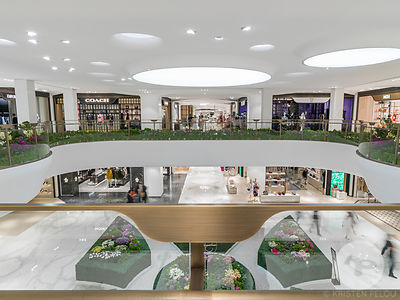 SKP Mall designed by Sybarite in Xi'an, China. Photo : ©Kristen Pelou