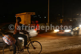 Lomé by night, Togo