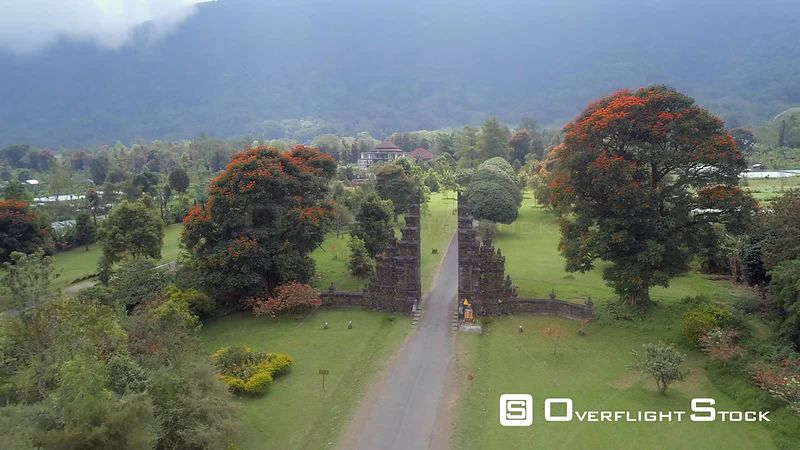 Ornate Traditional Gates in Bali Indonesia