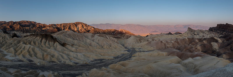 Sunrise at Zabriskie Point (bis) - California