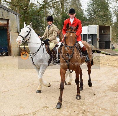 David Manning - The South Shropshire and Belvoir Hunts at Belvoir Castle 11/3/17