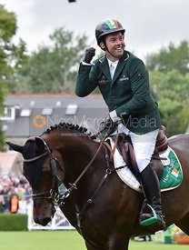 Cian O'Connor and GOOD LUCK - FEI Nations Cup, Dublin Horse Show 2017