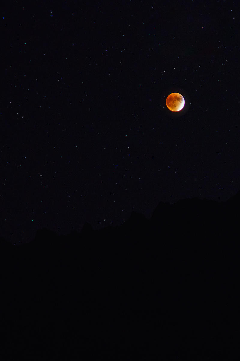 Colorado Blood Moon
