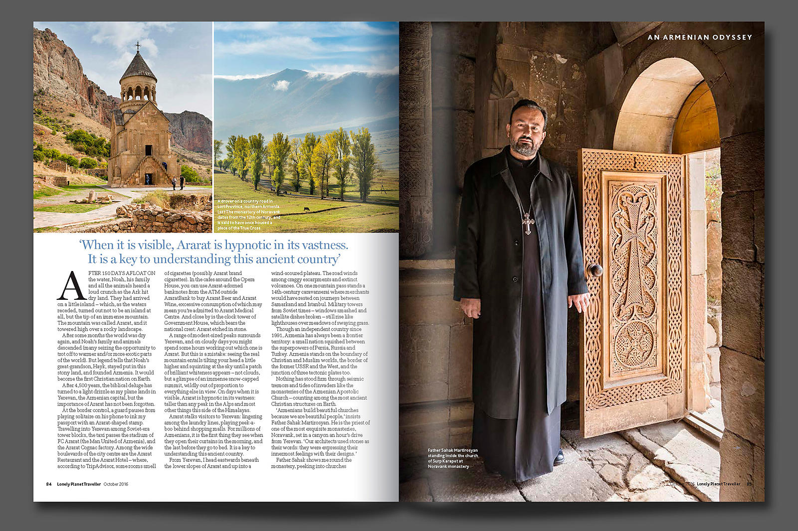 Armenia for Lonely Planet Mag