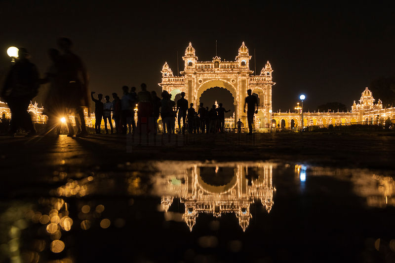Main Gate to the Mysore Palace