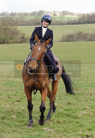 Sarah Jane Townend - Dianas of the Chase - Side Saddle Race 2014.