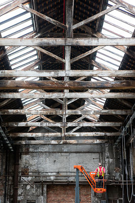 The Boiler Shop renovation