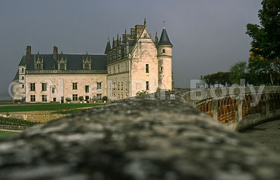 CHATEAU D'AMBOISE, INDRE ET LOIRE, FRANCE//FRANCE, LOIRE VALLEY, PALACE OF AMBOISE