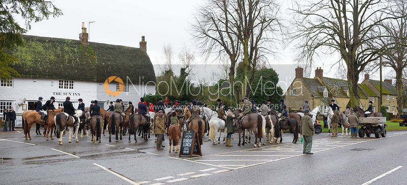 The Cottesmore Hunt at The Sun Inn 6/1
