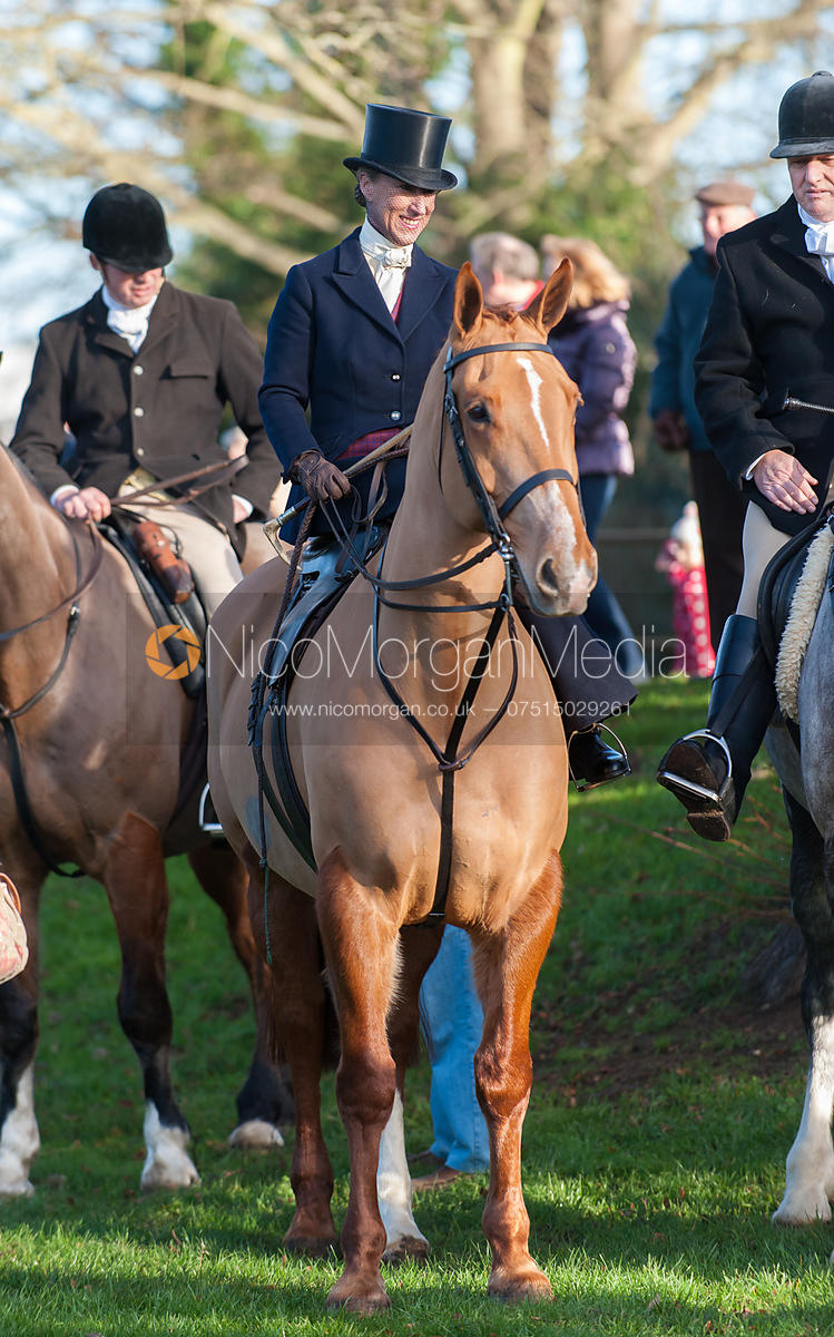 Gems McCormick - Cottesmore Hunt Boxing Day Meet, Oakham, Rutland