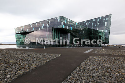 Harpa concert hall and conference centre, Reykjavik, Iceland