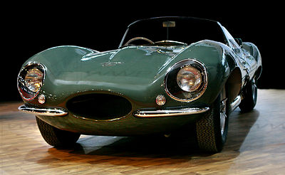 Jaguar XKKS 1954 Sport car