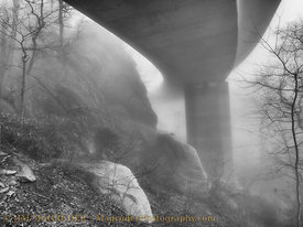 Viaduct In The Mist