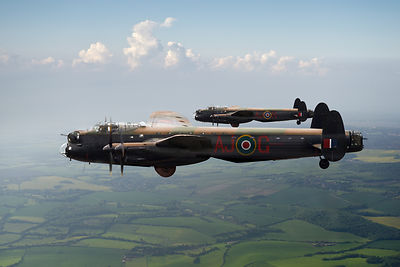 Lancasters AJ-G and AJ-N carrying Upkeeps