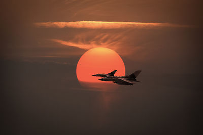 Gulf War sunset departure