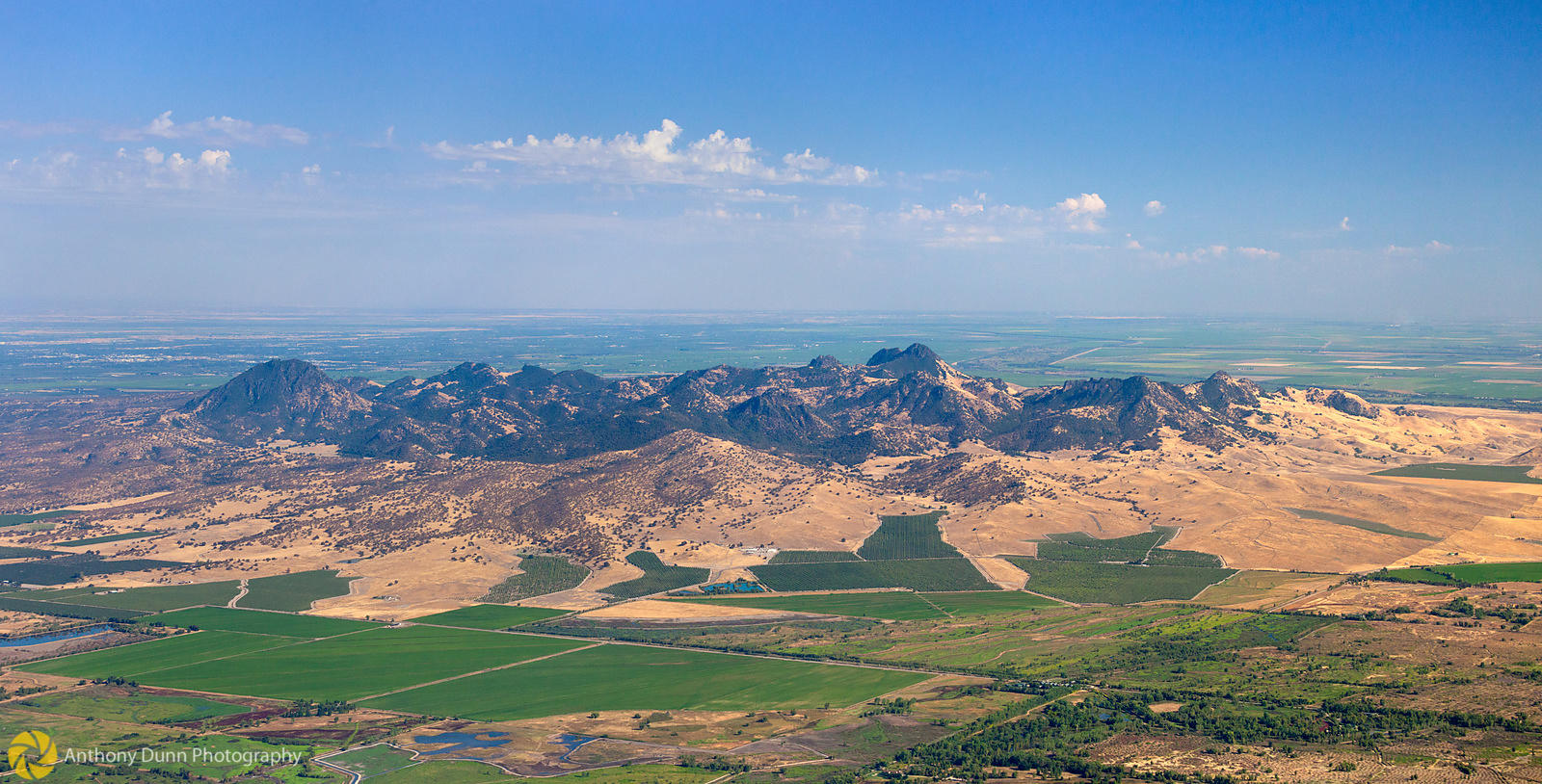 Aerial View of the Sutter Buttes #2