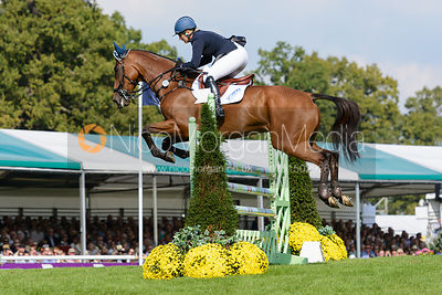 Gemma Tattersall and ARCTIC SOUL - show jumping phase, Burghley Horse Trials 2014.