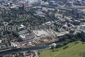 University of Salford Adelphi Campus and Salford Town Hall and Salford Cathedral