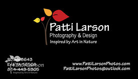 Patti Larson Photography Business Card