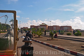 Street scenes around Marrakesh taken from a caleche, Morocco; Landscape