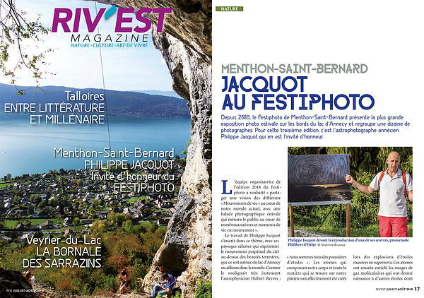 RIV'EST MAGAZINE - July/August 2018
