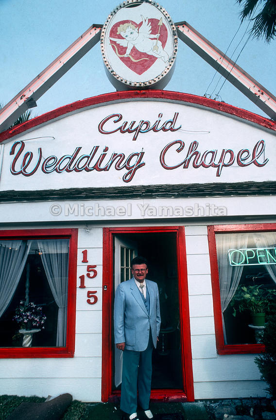 Michaelyamashita Cupid Wedding Chapel Las Vegas Nevada