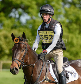 Ed Eltham and JUPITA VIII, Fairfax & Favor Rockingham Horse Trials 2018