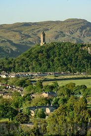 Stirling Bridge and Wallace Monument