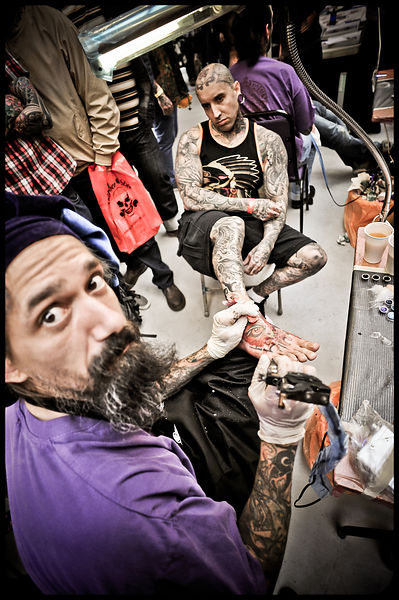 London Tattoo Convention 2012