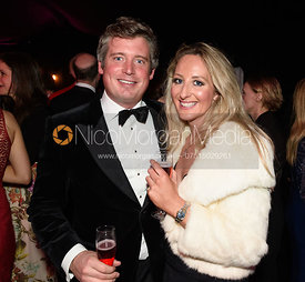 Robin Woodward, Camilla Southerington. The Quorn Hunt Ball 2019