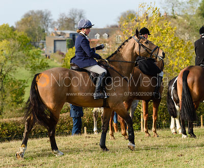 Charlotte Barnes, Cottesmore Hunt Opening Meet 2018