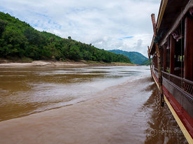 Two days on the Mekong from the Golden Triangle to Luang Prabang - Laos 2018