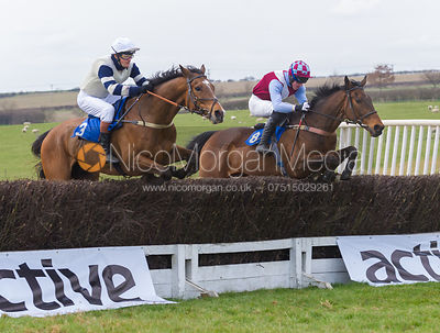Race 1, The Members Race - The Quorn at Garthorpe 21st April 2013.