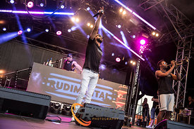 Rudimental at the Australian Grand Prix 2017