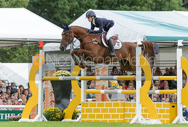 Emily Llewellyn and GREENLAWN SKY HIGH - show jumping phase, Burghley Horse Trials 2013.