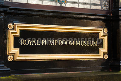 Royal pump room sign