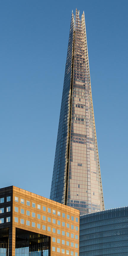 The Shard from the river