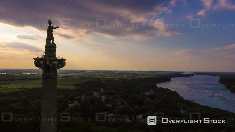Brock's Monument at Queenston Heights Park Ontario