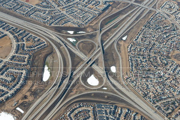 Deerfoot Trail, Highway 22X Interchange