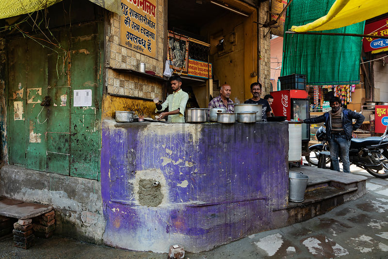 Street Food in Old Varanasi