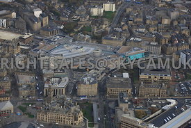 Bradford aerial photograph of the  Broadway Shopping centre