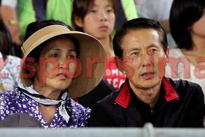 Spectators of Opening Ceremony at the 13th IAAF World Championships,Daegu S.Korea,2011