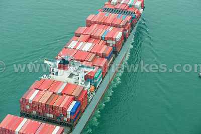 Container Ship, Hong Kong