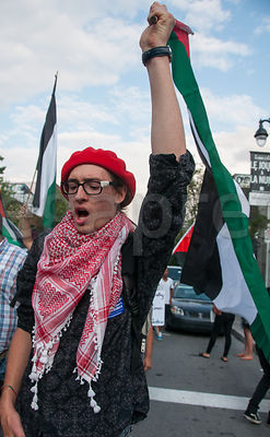 Gaza protests - Montreal photos