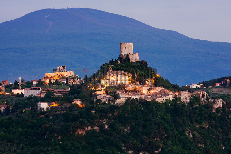 Town of Rocca d'Orcia