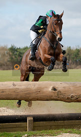 Holly Woodhead and The French One, Oasby Horse Trials 2011