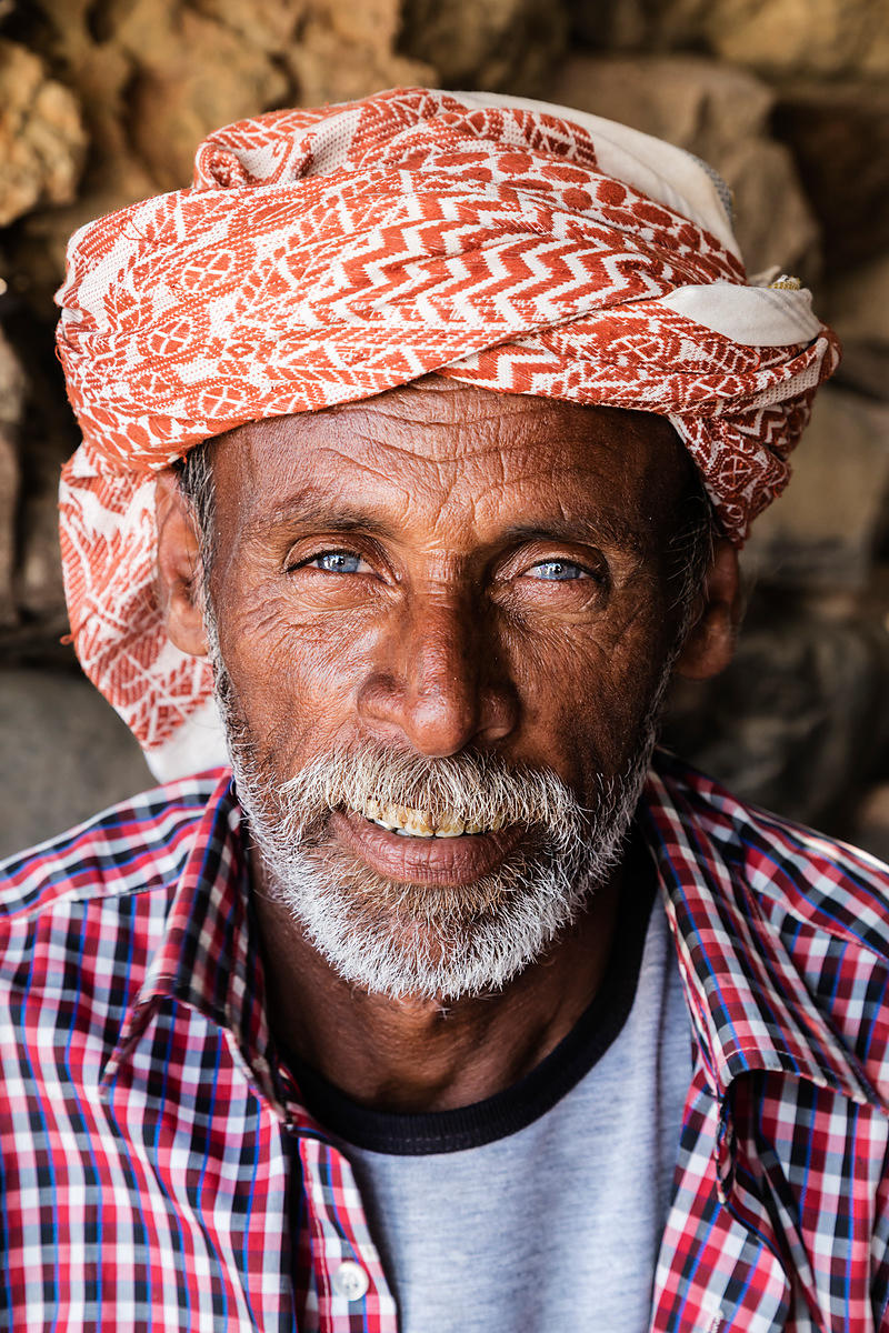 Portrait of a Socotran Fisherman