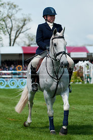 Phoebe Buckley and Little Tiger, Badminton Horse Trials, 2010